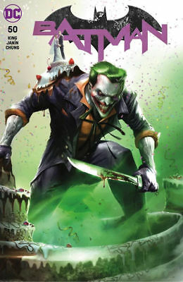 Batman 50 Francesco Mattina Joker Catwoman Wedding Issue Color Trade Variant Nm