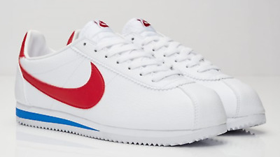 cheap for discount f0d98 40138 NIKE CLASSIC CORTEZ Basic Leather FORREST GUMP QS 749571-154 size 7-13
