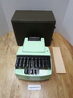 Vintage Stenograph Machine Reporter Model With Hard Case Made In The Usa