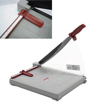 New Paper Photo Cutter Machine Guilotine Trimmer Home Office 10 Sheets Grey Safe