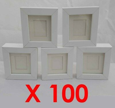100 X White Tysslinge Replacement Small Craft Frames  8X9 Ikea
