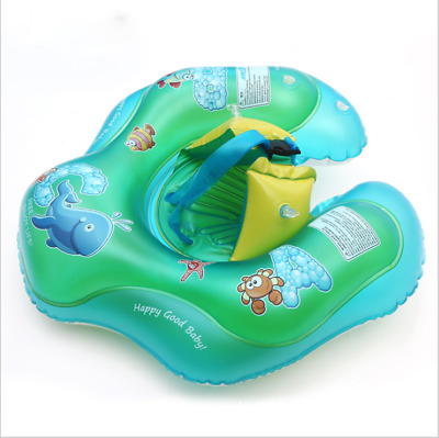 Baby Kids Inflatable Float Swimming Ring Swim Trainer Safety Aid Water Pool Toy
