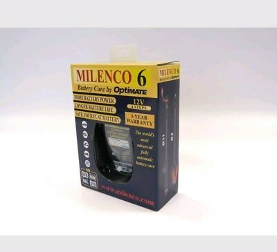 milenco 6 by optimate battery charger. automatic battery care
