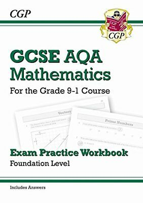 New GCSE Maths AQA Exam Practice Workbook: Foundation - for the Grade 9-1 Cours
