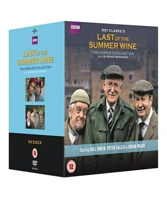 Last Of The Summer Wine Series 1-32 Complete Dvd Box Set New Sealed Seasons