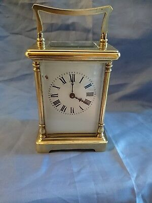 A Stunning Antique French Carriage Clock