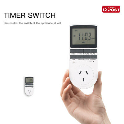 5x Digital Timer Switch 240V Automation Electric Programmable Powerpoint AU