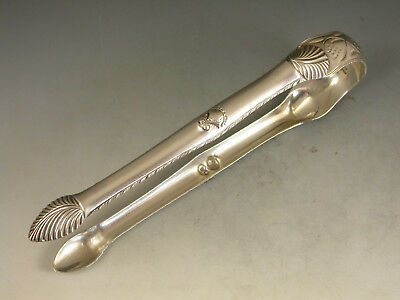 Good Pair of Unusual George III Antique Silver Sugar Tongs. c1775 - 1780