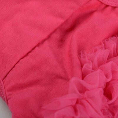 Red Baby Girl Knickers Ruffle Panties Bloomers Diaper Cover - S M3R1