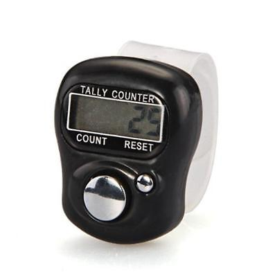 1pc Digital LCD Electronic Finger Hand Ring Knitting Row Tally Counter Hot  FT