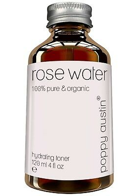 Pure Rose Water Facial Toner by Poppy Austin® - Vegan, Cruelty-Free, Organic, H