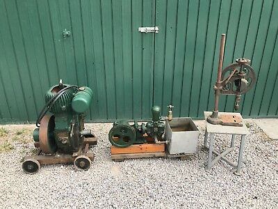 Wolseley stationary engine.