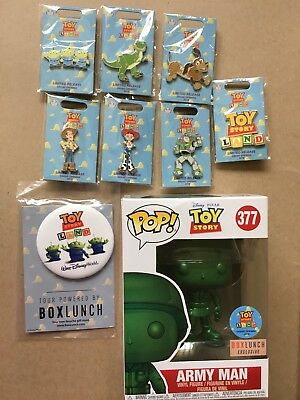 Disney Toy Story Land 2018 Grand Opening Limited Edition Pin Set By BoxLunch