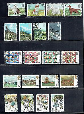 Great Britain Selection Of 12 Lower Value Sets From 851-923, Mnh  (Id6438)