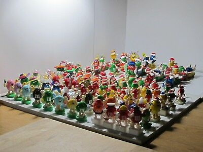 94 Various  M&M Toppers (some vintage ones) + FREE Other M&Ms' !!
