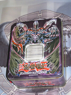 YuGiOh 500 Card Bundle / Joblot - Mixed Sets & All NM Condition +Collectable Tin