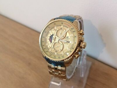 cad4e96f9 Casio Edifice Gents Quartz Gold Plated Watch. 5177-EF/558 (See Details