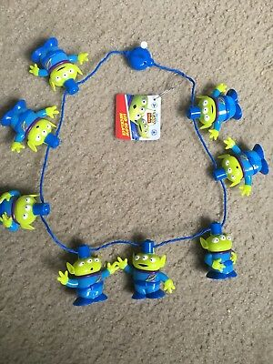 Disney Parks Toy Story Aliens Light-Up LED Glow Lanyard Necklace, NEW