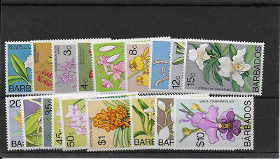 BARBADOS 1974  Orchids mint