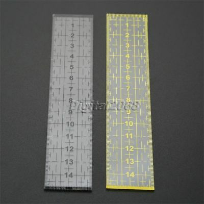 Acrylic Plate Rectangle Clothing Design Quilting Ruler Cutting Patchwork Ruler