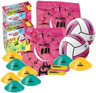 2x Liz Ellis Size 4 Netball Training Set
