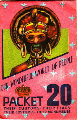 1963 Our Wonderful World of People - Sealed Stamp Pack #20