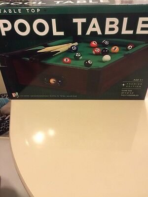 TABLETOP POOL TABLE By Go Game Size X X PicClick - Tabletop pool table full size