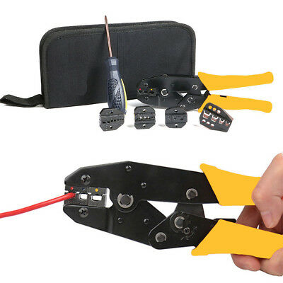 6 In 1 Wire Crimpers Crimping Pliers Bootlace Ferrule Cable Crimper Tool Kits UK