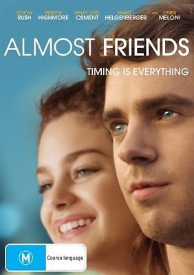 Almost Friends Dvd, New & Sealed, 2018 Release, Region 4, Free Post