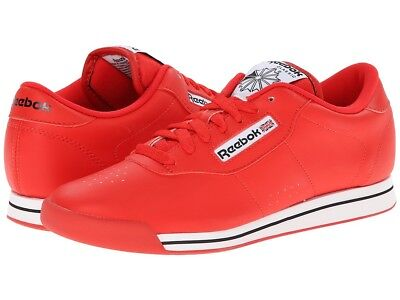 4e6e5f60445 REEBOK CLASSIC PRINCESS Red White Women Size New In Box J95025 ...
