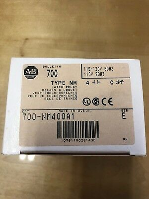 Allen Bradley 700-NM400A1 Latch Relay