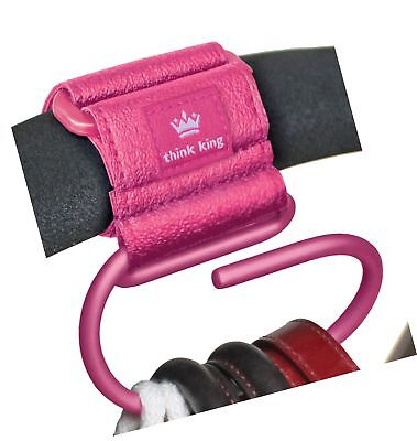 Think King Jumbo Swirly Hook, Pink - NO TAX