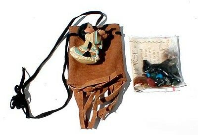 "NWT Friends of Feather ""Horse Medicine Bag"""