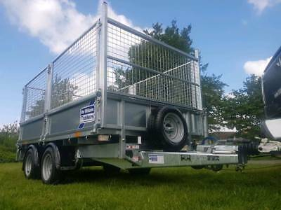 Ifor Williams Trailer Lm 105 Fully Caged Mesh Kit Alloy Ramps Builder Drop Side