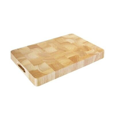 Vogue Rectangular Wooden Chopping Board Medium (Next working day UK Delivery)