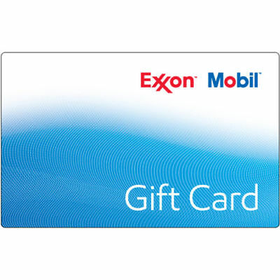$300 Exxon Mobil Gas Gift Card Unused Shipped Fast Within 3 Days