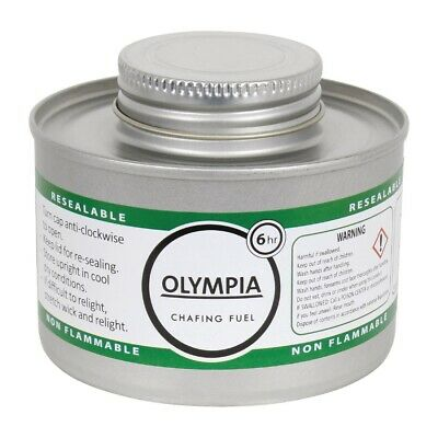 Olympia Liquid Chafing Fuel With Wick 6 Hour x 12 (Pack of 12)