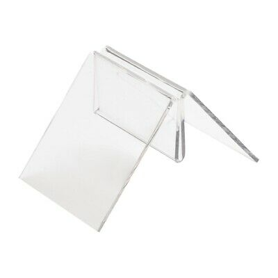 Clear T Shaped Menu Holder (Next working day UK Delivery)