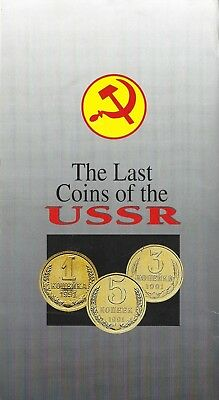 1988 – The Last Coins Of The Ussr – 10 Coin Set In Mint Condition – Sealed