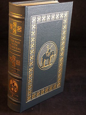 The Easton Press - The War With Hannibal Livy Leather Bound Very Good