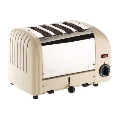 Dualit 4 Slice Vario Toaster Utility Cream 40354 (Next working day UK Delivery)