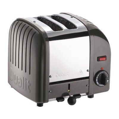 Dualit 2 Slice Vario Toaster Metallic Charcoal 20241 (Next working day to UK)