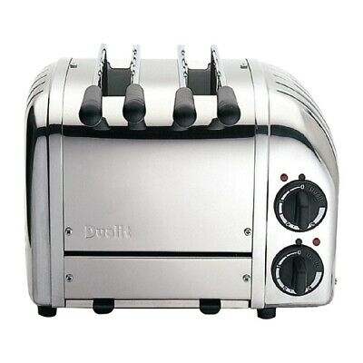 Dualit 2 Slice Vario Sandwich Toaster White 21059 (Next working day UK Delivery)