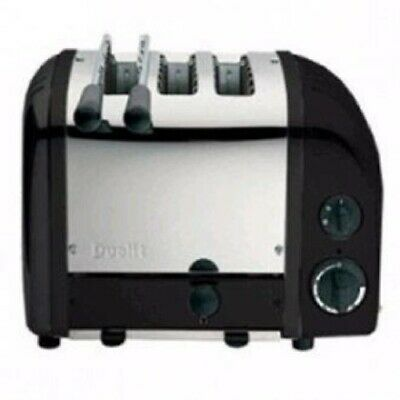 Dualit 2 + 1 Combi Vario 3 Slice Toaster Black 31205 (Next working day to UK)