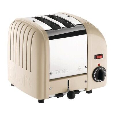 Dualit 2 Slice Vario Toaster Utility Cream 20247 (Next working day UK Delivery)