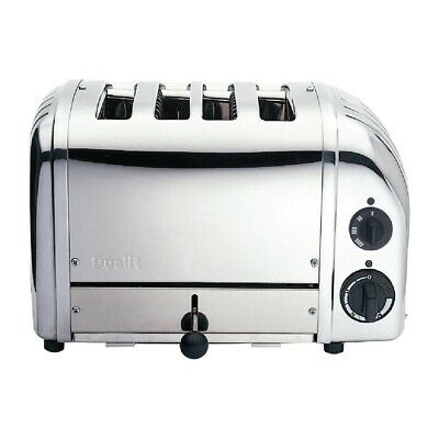 Dualit Bun Toaster 4 Bun Polished 43021 (Next working day UK Delivery)