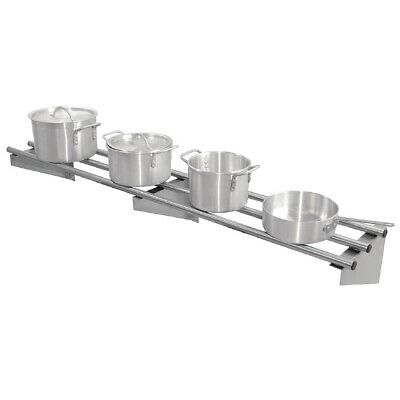 Vogue Stainless Steel Wall Shelf 1500mm (Next working day UK Delivery)