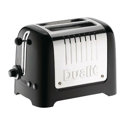 Dualit 2 Slice Lite Toaster Black 26205 (Next working day UK Delivery)
