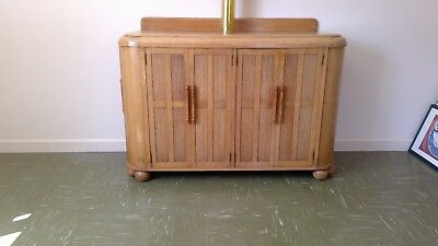 Antique Solid Beech Sideboard. Design number: 0786 from Ercol High Wycombe 1932.