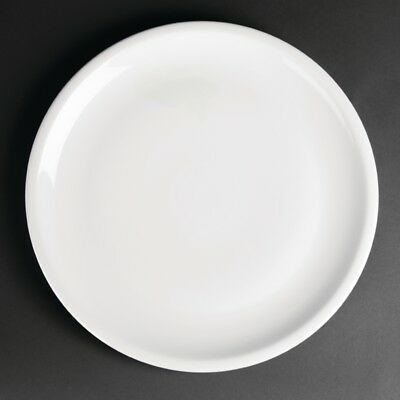 Royal Porcelain Classic White Narrow Rim Plates 300mm (Pack of 12)